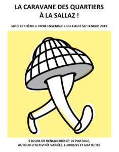 LIVE à La Sallaz (Lausanne) le dimanche 8 septembre 2019